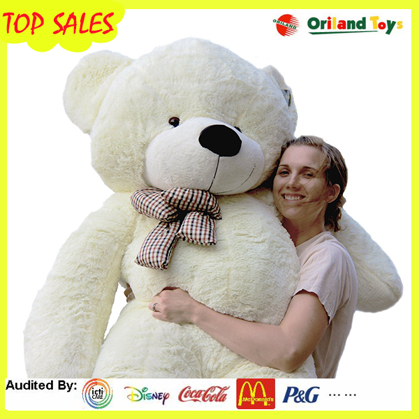 TUV certificate plush bear toy for 80cm /120cm140cm /160cm 200cm/big size plush teddy bear toys