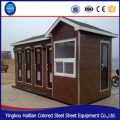 low cost prefabricated portable luxury Steel Frame modern prefab shipping mobile container toilet