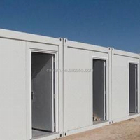 Container house mobile container toilet with bathroom