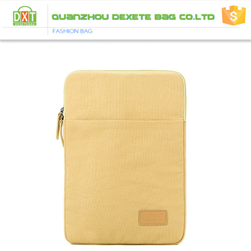 Pure color literature and art laptop sleeve bag