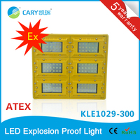 ATEX Approval IP65 Explosion Proof LED flood light 300W for hazardous location lighting