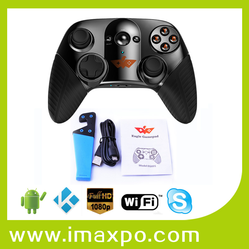 EAGLE GAMEPAD bluetooth wireless game controller support Alpha Wave and Clock Tower