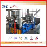 four rollers plate bending machine , upper roller universal plate bending machine , sheet metal roller