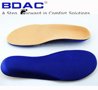 heel cradled EVA diabetic shoe insoles
