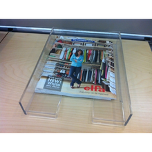 wholesale clear acrylic lucite serving tray