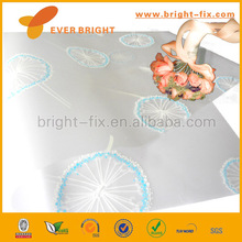 High quality PVC plastic wrapping film/ gift wrapping/plastic gift wrap film