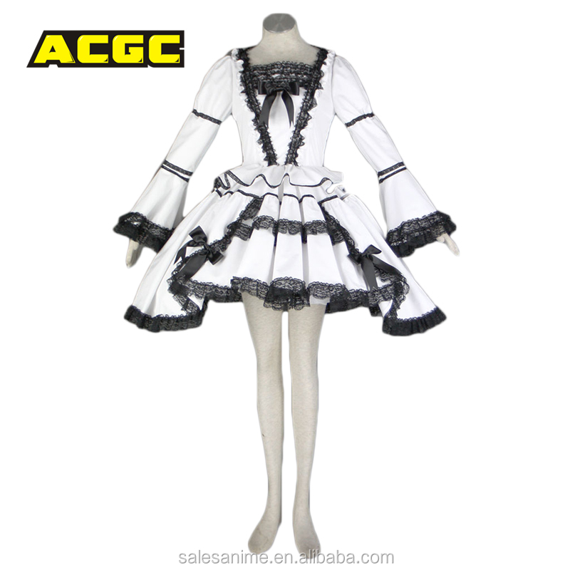Hot sale japanese adults pretty design sexy maid anime cosplay costume
