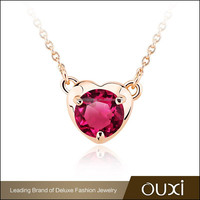 China Fashion Leader high end fashion jewelry necklace