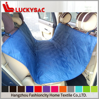 Polyester Oxford PVC Coated Waterproof Pet Car Seat Cover with Drawstring Bag