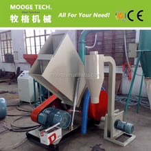 PVC PP PE PPR pipe crusher/plastic pipe crushing machine