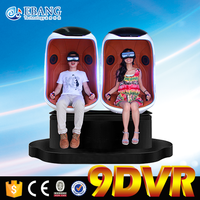 Bring spectators stimulating immerse experience egg chair 9d vr with 3d virtual reality glass