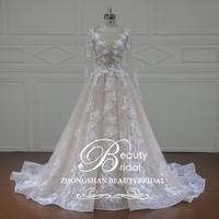 XF16120 3D flowers lace bridal dress, bridal gown wedding dresses 2016