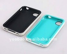 YOOBAO Protective Case Fit for iPhone4 Black