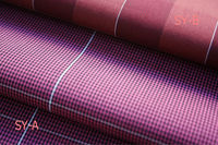 yarn dyed checked collection:coloured woven cloth
