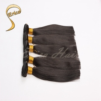 100% Remy Double Drawn Chinese Human Hair Extensions Virgin machine Silky Straight Wave hair weft
