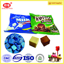 Sweet cube milk candy