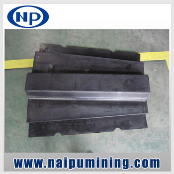 Naipu Mining Grinding Mills Wear Resistant Rubber Mill Liners