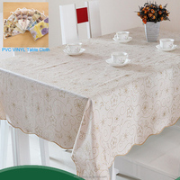 big sale !!!2015 new classic flannel/PVC/PE table cloth with good quality