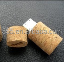 natural wood Wine Cork pen drive, Wine Stopper USB Flash Drive