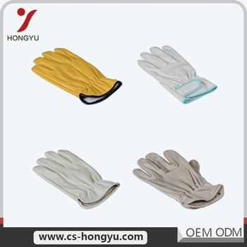 Free samples mechanical dipped industry leather welding work gloves