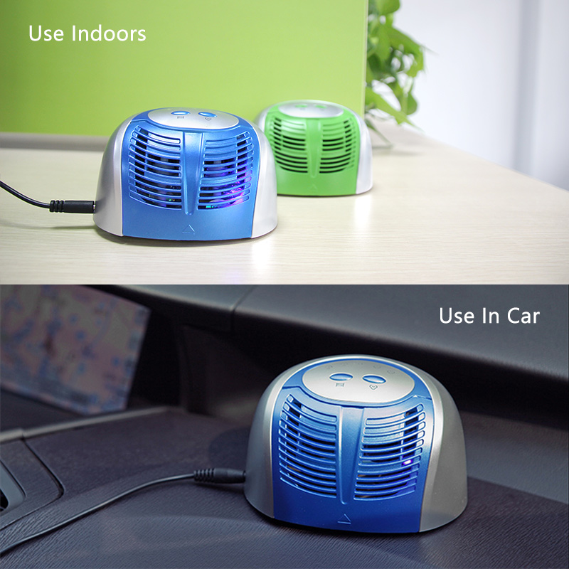 Ionkini Dual Scent Aromatherapy Diffuser Purifier JO-688 For Car & Home Use