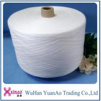textile paper tube and cone polyester spun yarn