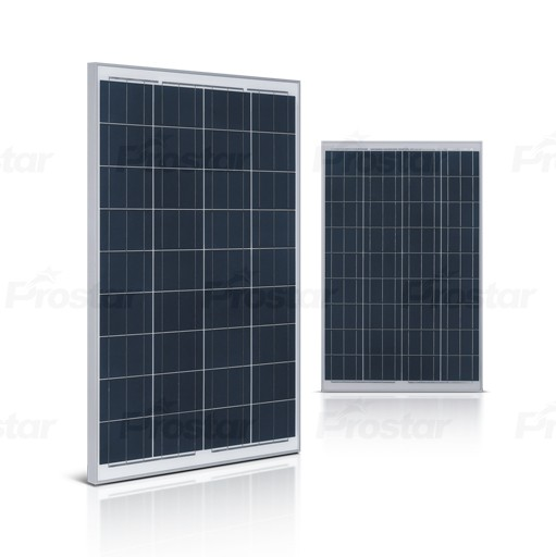 High quality prostar solar panel made in japan poly 100wp
