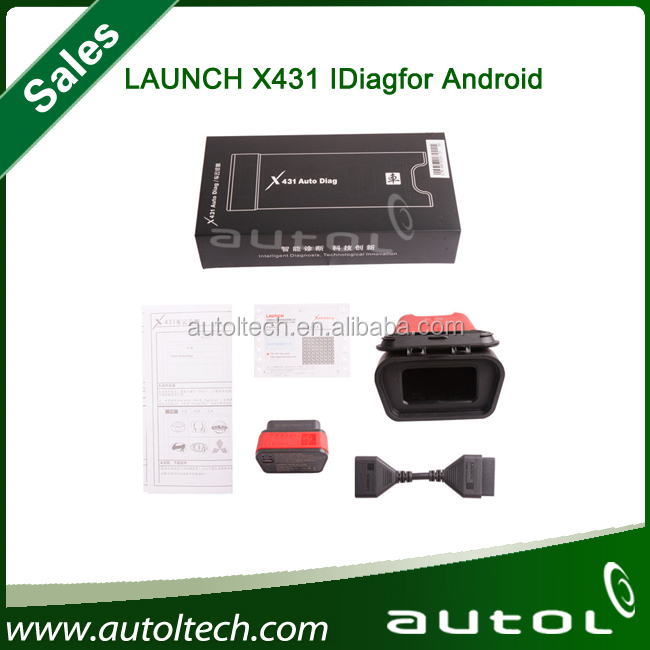 Free Shipping 2014 New Arrival Launch X431 X-431 iDiag X431 auto diag diagnostic Tool Bluetooth for For Android/IPAD and Iphone