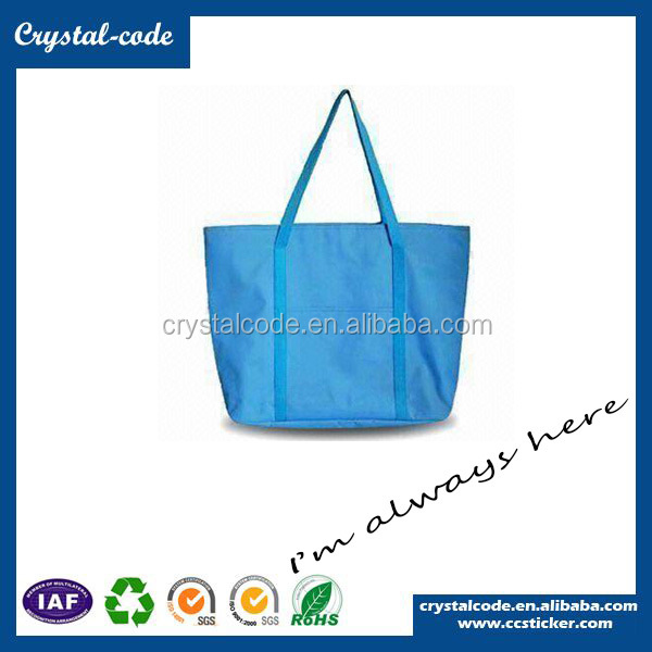 Promotional Wholesale Supreme Polyester Printed Fabric Tote Bag