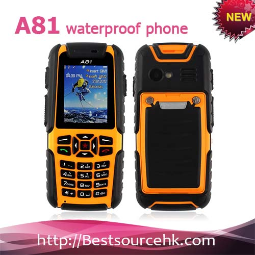 Best Military Grade Rugged Waterproof Crushproof and Dustproof Long Time Battery Dual Sim Card Brand Mobile Phone