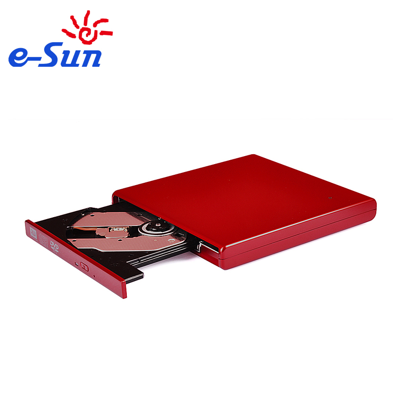 ECD009-DW USB 2.0 Slim External DVD ROM CD-RW Combo Drive Writer