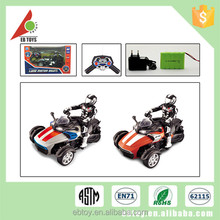 Children electric toy three wheel remote control vehicle rc motorcycle