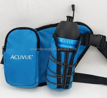 travel waist bag with water bottle set