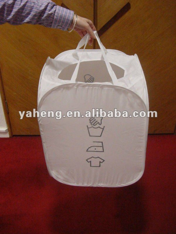 Mesh pop up Laundry Hamper
