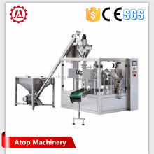 5-50g rice bag filling packing machine with conveyor and sewing machine