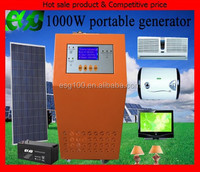 500W 1000W solar charge controller inverter portable solar power system for Home use