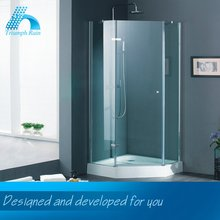 Best Price Elegant Top Quality Humanized Design Frameless Glass Shower Doors Bathroom Accessory Manufacturer