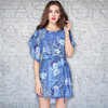 Lotus sleeve dress loose big yards,wholesale clothing distributors