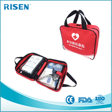 2017 Wholesales High Capacity Storage convenient Portable Emergency kit/handy first aid kit