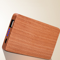 Unique design wood power bank,handy power charger for mobile phone
