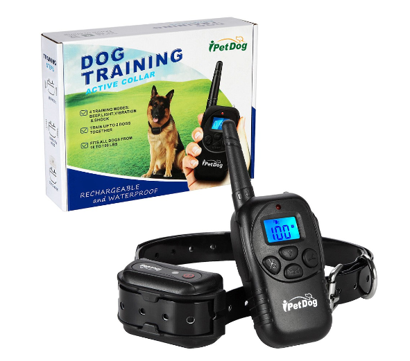 1000ft Range Remote Dog Training Collar 100% Waterproof with Beep Vibration and Shock