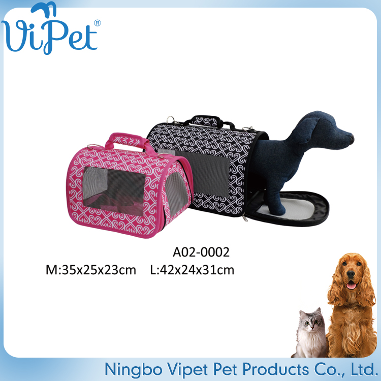 good quality oem design cute pet bag carrier