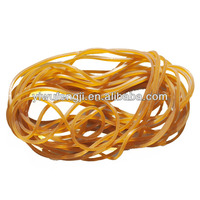 natural color rubber band for money