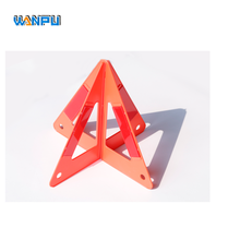 Wholesale CE reflector rodeway Safety LED 30CM car warning triangle