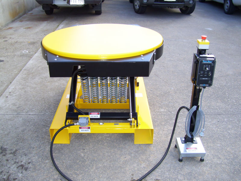 RotoLift Powered Elevator Table