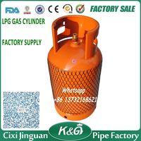 Home Use Nigeria Kenya Tanzania Cheap Price High Quality 12.5 KG LPG Cylinder, 12.5KG LPG Gas Butane Cylinder China Manufacturer