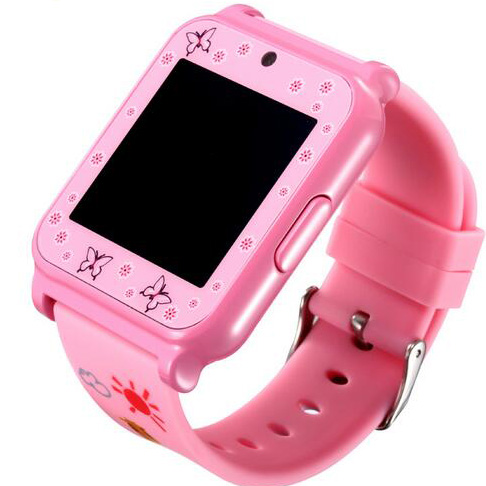 W90 Pink Color Kids Mobile Watch Phones 2016 Best Selling MTK6260A Chipset Smart Watch SIM Card