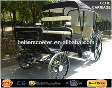 2014 New American Black Wedding Horse Carriage/Cart/Wagon
