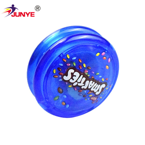 BSCI audit factory all size flashing plastic led yoyo with light