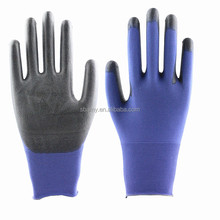 sbamy wholesale free shipping quality 18 guage nylon super flex PU anti static electrical operation <strong>safety</strong> glove flex working